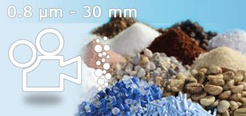 Dinamična slikovna analiza (DIA) - 0.8 µm do 30 mm