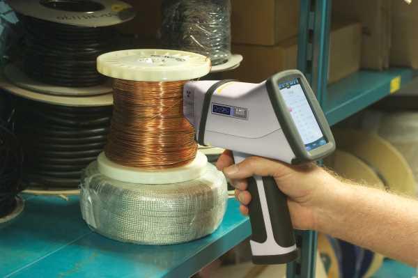 Ročni prenosni rentgenski spektrometer za kovine